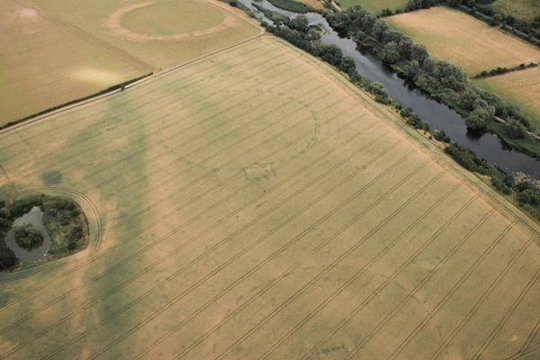Henge in County Meath